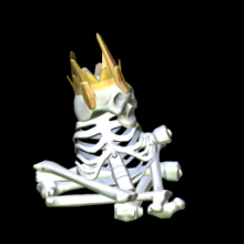 Rocket League: BONE KING