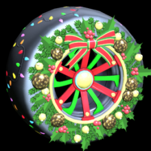 Rocket League: CHRISTMAS WREATH