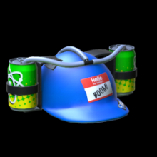 Rocket League: DRINK HELMET