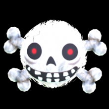 Rocket League: FUZZY SKULL