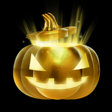 Rocket League: GOLDEN PUMPKIN