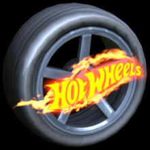 Rocket League: HOT HOT WHEELS