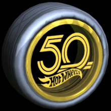 Rocket League HOT WHEELS 50TH Image - Item