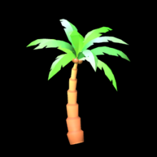 Rocket League: PALM TREE