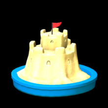 Rocket League: SAND CASTLE