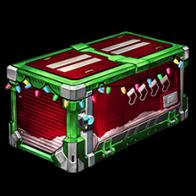 Rocket League SECRET SANTA CRATE Image - Item