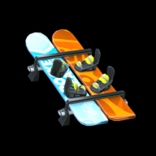 Rocket League: SNOWBOARDS